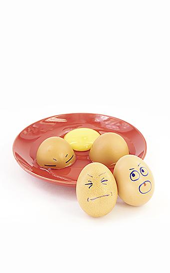 Huevo intolerancia al