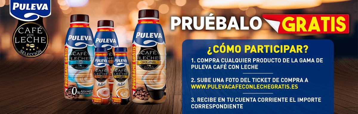 Puleva Café Con Leche Gratis